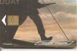 CARTE°-PUCE-PRIVEE-PUBLIC- 50U-EN1789-GEM2-08/04-CEF52-JOUR J-UTILISE-TBE-TRES RARE - France