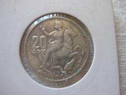 Grèce: 20 Drachmes 1960 (silver) - Grèce