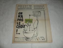 ANCIEN / 1er SERIE /  CHARLIE HEBDO  N° 180  /  SINE   / AVRIL   1974 - Zeitschriften & Magazine