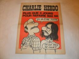 ANCIEN / 1er SERIE /  CHARLIE HEBDO  N° 28  / WOLINSKI  / MAI 1971 - Magazines Et Périodiques