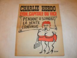 ANCIEN / 1er SERIE /  CHARLIE HEBDO  N° 94  /  REISER   / SEPT   1972 - Zeitschriften & Magazine