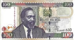 KENYA 100 SHILLINGS 2008 P-48c UNC [ KE139e ] - Kenya