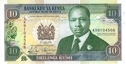KENYA 10 SHILLINGS 1993 P-24e UNC [ KE125e ] - Kenya