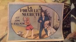 La Formule Secrete Avec Jim L'eclair - Livres, BD, Revues