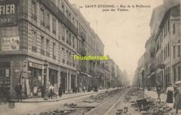CPA 42 SAINT ETIENNE RUE DE LA PREFECTURE PRISE DES VIADUCS - Saint Etienne