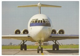 LOT Polish Airlines Ilyushin-62M Jet Plane C1970s/80s Vintage Postcard - 1946-....: Modern Era
