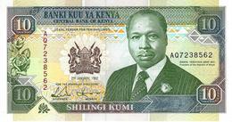 KENYA 10 SHILLINGS 1992 P-24d UNC [ KE125d ] - Kenya