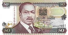 KENYA 50 SHILLINGS 1998 P-26c UNC [ KE133d ] - Kenya