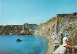R831 Isola Di Ponza (Latina) - Panorama Della Spiaggia Di Chiaia Di Luna / Non Viaggiata - Italia