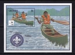 Grenada  (Sc # 2427), MNH, (Souvenir Sheet Of 1), 18th World Boy Scout Jamboree   (1995) - Grenada (1974-...)