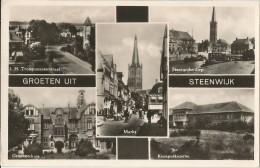 _5pk-240: GROETEN UIT STEENWIJK  : Verstuurd : 1951 - Steenwijk
