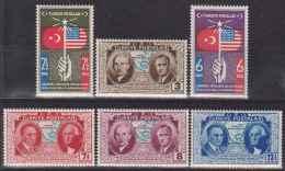 TURKEY 1939 150TH ANNIV. OF USA MNH M01083 - Unused Stamps