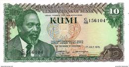 KENYA 10 SHILLINGS 1978 P-16a UNC [ KE116a ] - Kenya