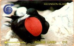 Ascension - 2CASC, GPT, Ascension Frigate Bird, 15 £, 1991, Used - Ascension