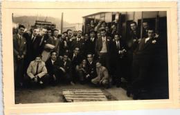 VILA NOVA DE FAMALICÃO - AMOÇO NO HOTEL GARANTIA - 1949 - PORTUGAL (2 SCANS) - Braga