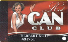 Cannery Casino Las Vegas, NV Slot Card - Copyright 2012 - Casino Cards