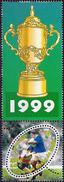 France 1999 - World Cup Rugby Championship ( Mi 3421 - YT 3280 ) MNH** + Label - Frankreich