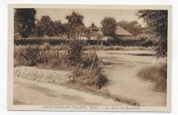 SAINT OUEN DU TILLEUL - LA MARE DE MAROUZE - CPA VOYAGEE - Francia
