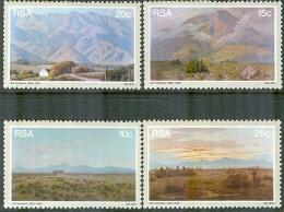 South Africa 1978 Set/4 Landscapes By Volschenk #505-8 - Südafrika (1961-...)