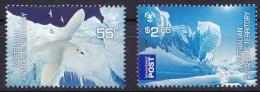 Australian Antarctic 2009 Poles & Glaciers Set Of 2 MNH - Territoire Antarctique Australien (AAT)