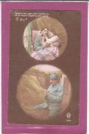 5 Superbes Cartes  Scenes D ' Amour - Altri