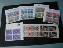 Lichtenstein   4Blöcke ** MNH   Ca.1990 - Briefmarken