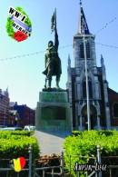 Carte Postale, Militaria,  World War I Memorial Monuments,  Belgium (Lièege), Ampsin. Monument Aux Morts - Monumenti Ai Caduti