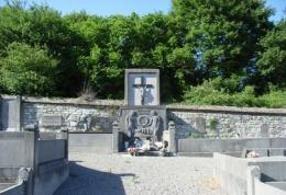Carte Postale, Militaria,  World War I Memorial Monuments,  Belgium (Liège), Ampsin - Monumenti Ai Caduti