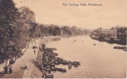 16 / 6 / 442  -  THE  TOWING  PATH,  RICHEMOND - Richmond