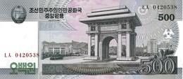 NORTH KOREA 500 WON 2008 (2009) P-63 UNC [KP344a ] - Corée Du Nord