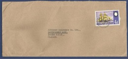 SAINT HELENA ISLAND POSTAL USED AIRMAIL COVER TO LONDON  ENGLAND UNITED KINGDOM - Isla Sta Helena