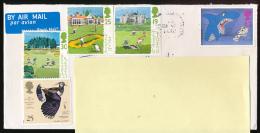 Belle Lettre D' Ecosse Adressée En France, Golf, Carinoustie, Muirfield, Saint-Andrews, By Air Mail, Par Avion - Other