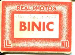 N°50104 -carnet Binic -real Photos- - Binic