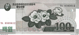 NORTH KOREA 100 WON 2008 (2009) P-61 UNC [KP342a ] - Korea, North