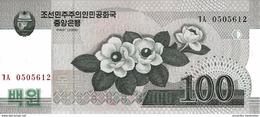 NORTH KOREA 100 WON 2008 (2009) P-61 UNC [KP342a ] - Korea, Noord