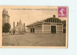 USSEL : Le Marché Couvert Et La Maison . 2 Scans. Edition Eyboulet - Ussel