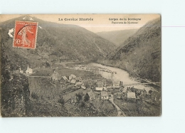 NAUZENAC : Panorama, Gorges De La Dordogne. 2 Scans. Edition Eyboulet - France
