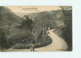 Ruines Du Château De MERLE. 2 Scans. Edition Eyboulet - France