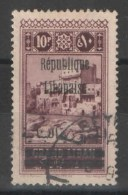Grand Liban - YT 108 Oblitéré - Grand Liban (1924-1945)