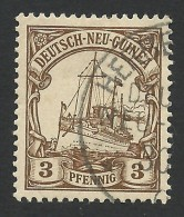 German New Guinea, 3 Pf. 1901, Sc # 7, Mi # 7, Used, Herbertshohe - Colonie: Nouvelle Guinée