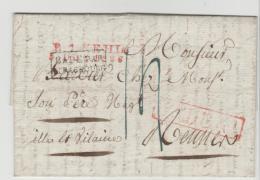BAD278 / R 1 Kehl Par Strassburg Nach Frankreich 1826 - Baden