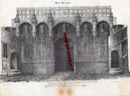 87 - LIMOGES - RARE GRAVURE DE TRIPON XIXE SIECLE- LIMOGES- JUBE DE LA CATHEDRALE - Prints & Engravings