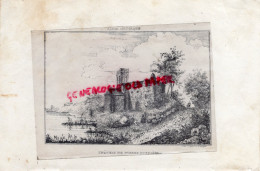 87 - PIERRE BUFFIERE - RARE GRAVURE DE TRIPON XIXE SIECLE- CHATEAU - Prints & Engravings