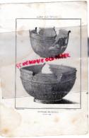 87 -LIMOGES - RARE GRAVURE DE TRIPON XIXE SIECLE- POTERIE ROMAINE EN TERRE ROUGE - Prints & Engravings