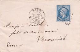 France N°22 Sur Lettre - 1862 Napoléon III