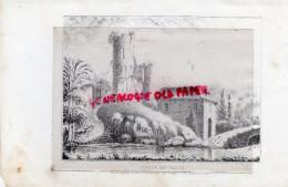 87 - CHALUS - TOUR RICHARD COEUR DE LION  - RARE GRAVURE DE TRIPON XIXE SIECLE- - Prints & Engravings