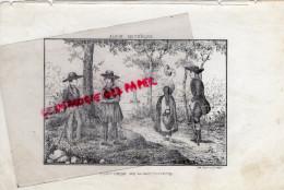 87 -  COSTUMES DE LA HAUTE VIENNE  -COSTUME- RARE GRAVURE DE TRIPON LIMOGES-XIXE SIECLE - Estampas & Grabados