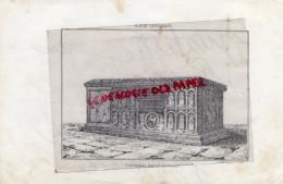 87 -  SAINT JUNIEN - TOMBEAU DE ST JUNIEN-  RARE GRAVURE DE TRIPON LIMOGES-XIXE SIECLE - Estampas & Grabados