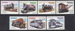 SETS NICARAGUA Trains Railway MNH** CV 6€ - Trains