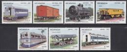 SETS NICARAGUA Trains Railway MNH** CV 5€ - Trains